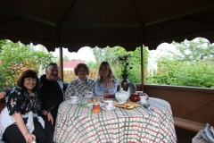 Russian tea with Irina