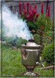 Samovar for making tea