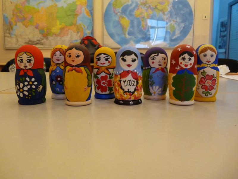 Matreshka paiting