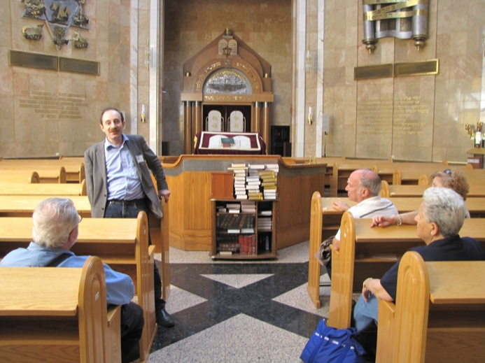 Inside The Holocaust Memorial Synagogue