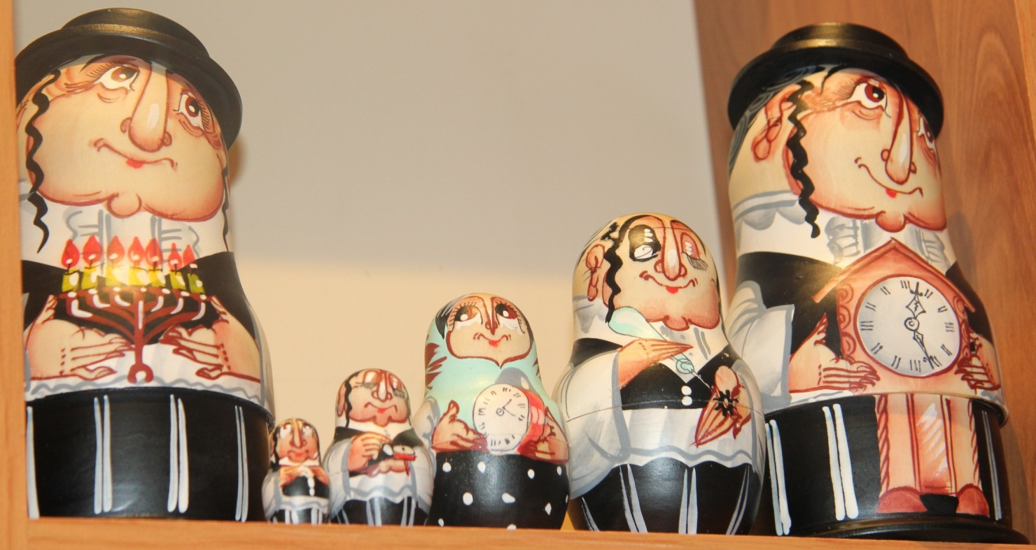 Jewish Matreshka doll
