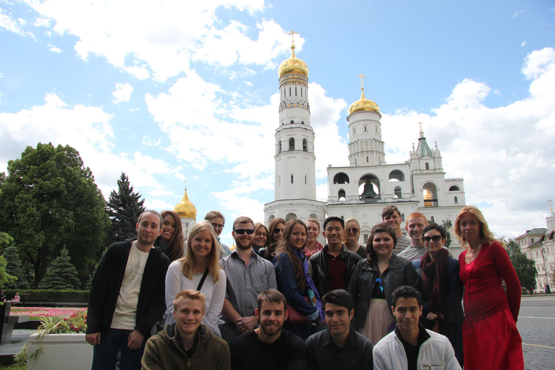 Tour whith students