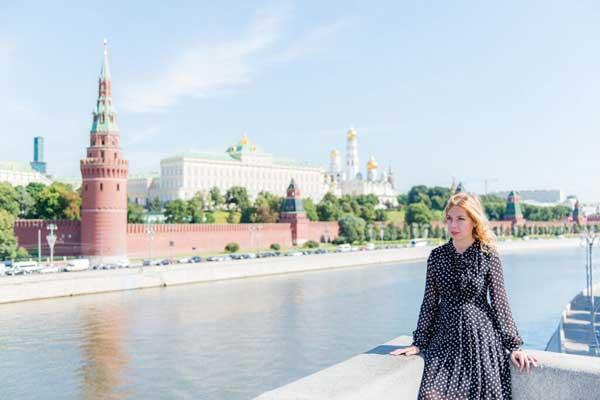 Kremlin tour with Irina