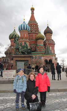 Red Square tour with Irina.
