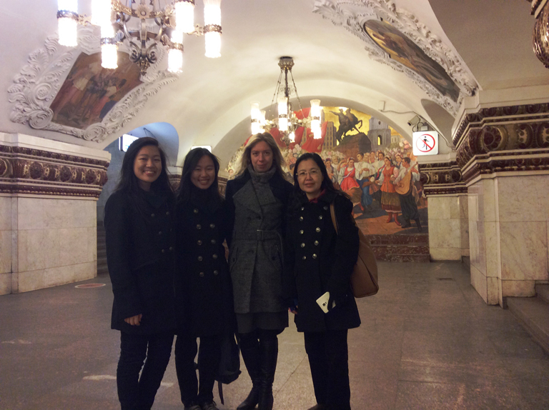 Metro Tour with Irina